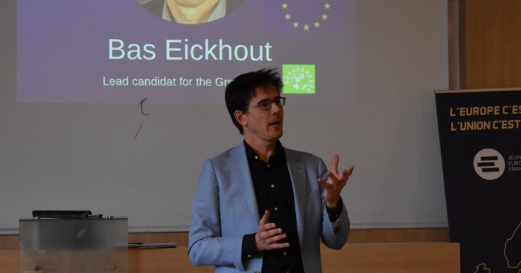Bas Eickhout : 'Greens are pro-European, pro-change'