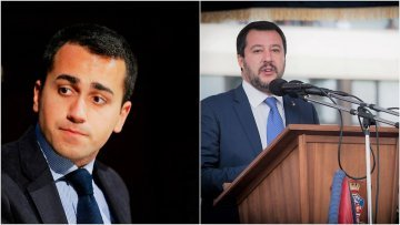 Salvini and Di Maio harshly attack Italian journalists on social media − but in different ways