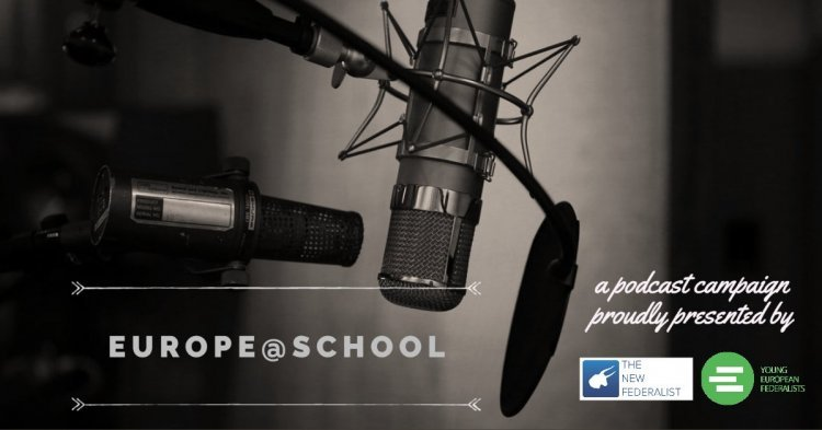 The Europe@School podcast series is launched!